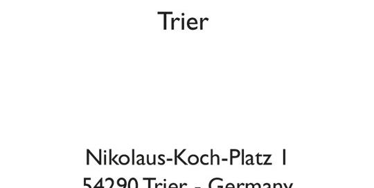Hotel Park Plaza Trier - Hotelschlüsselkarten