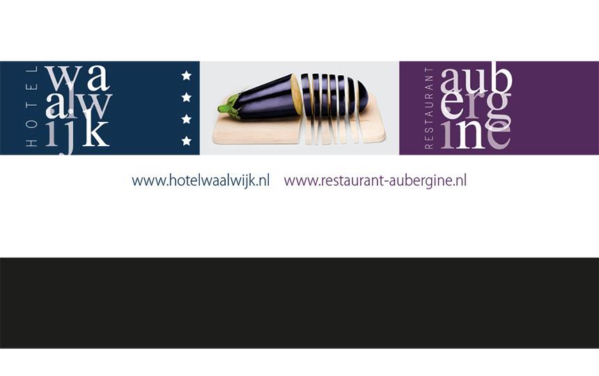 Hotel Waalwijk - gastenkaart